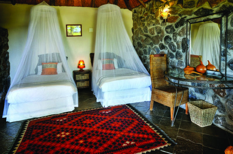 Family Self-Drive Botswana - Thamalakane River Lodge, Chalet Interior (Upgrade)