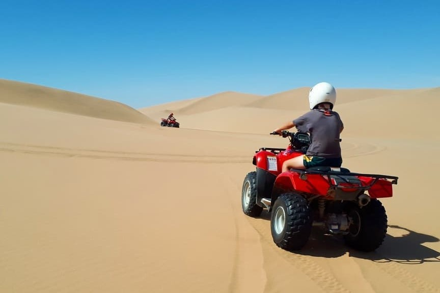 Quad biking Namibia, family safaris
