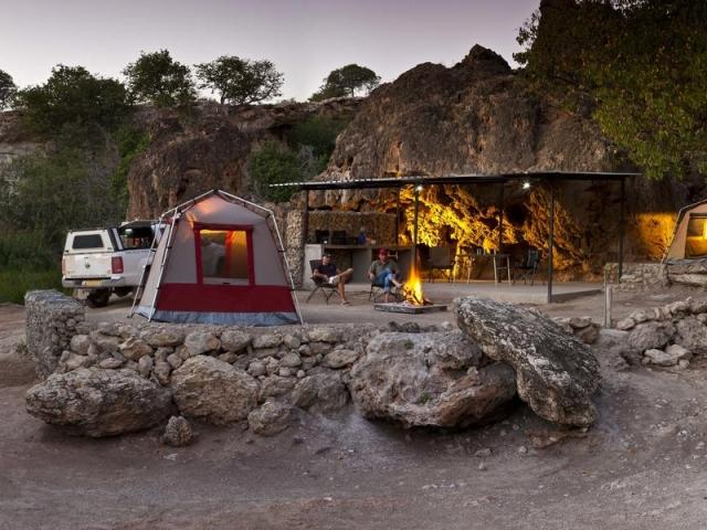 Complete Namibia - Ongongo Waterfall Campsite