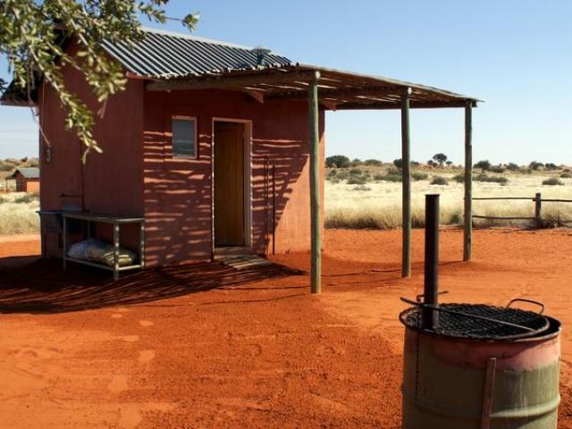 Complete Namibia - Bagatelle Kalahari Game Ranch, Campsite