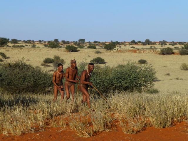 Namibia Family Holiday, Bagatelle Kalahari Game Ranch, Namibia, San bushmen excursion
