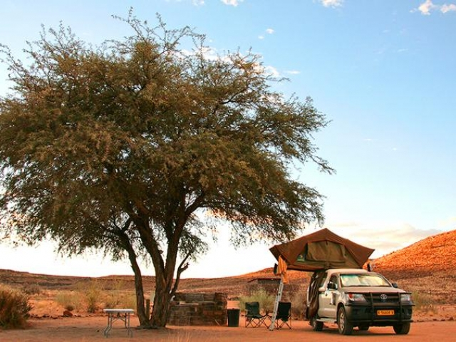 Complete Namibia - Canyon Roadhouse, Campsite