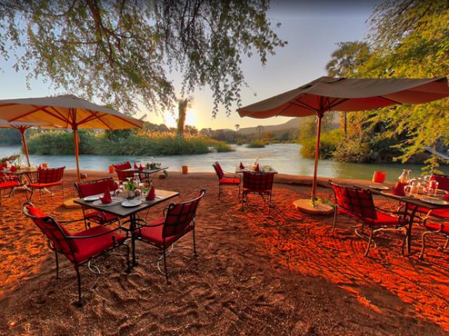 Complete Namibia - Epupa Campsite, Kunene River Views