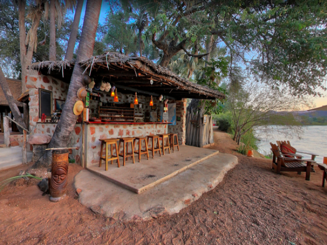 Complete Namibia - Epupa Campsite, Bar