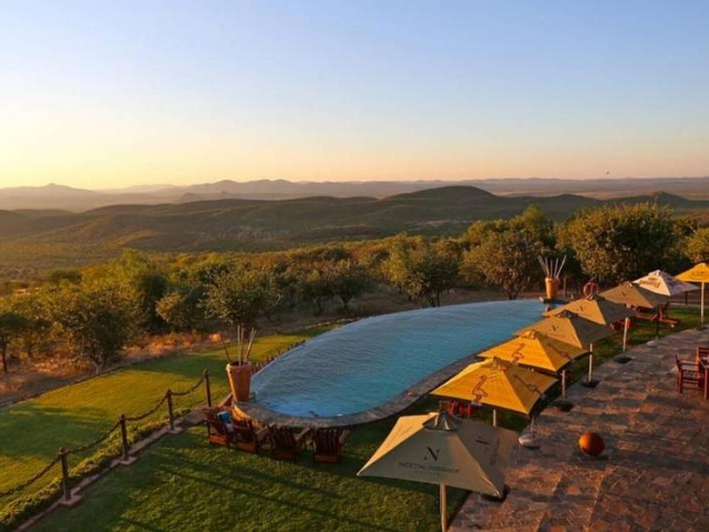 Complete Namibia - Opuwo Country Lodge, Pool