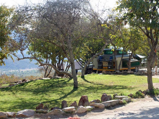 Complete Namibia - Opuwo Country Lodge, Campsite Views