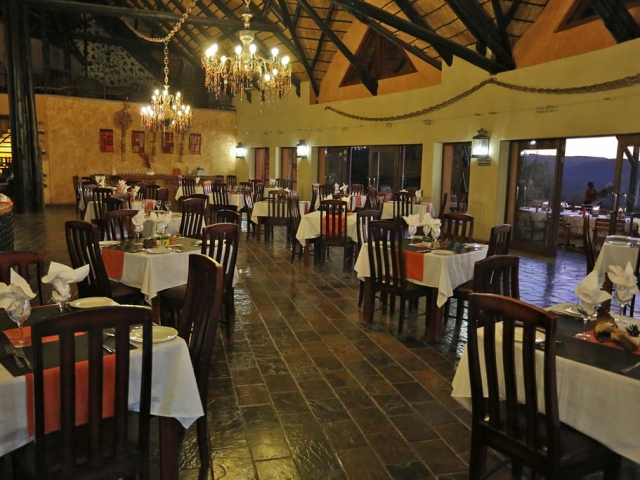 Complete Namibia - Opuwo Country Lodge, Restaurant
