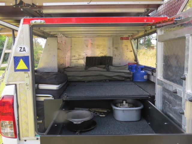 Your vehicle includes all the camping equipment you need!