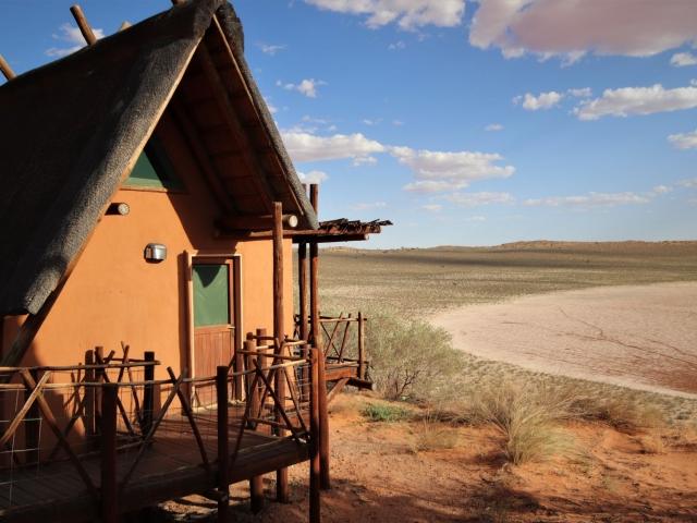 Cape to Windhoek - !Xaus Lodge, Kgalagadi (Upgrade), stunning views