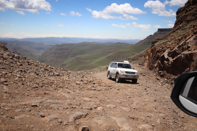 Sani Pass into Lesotho - a 4x4 only adventure!