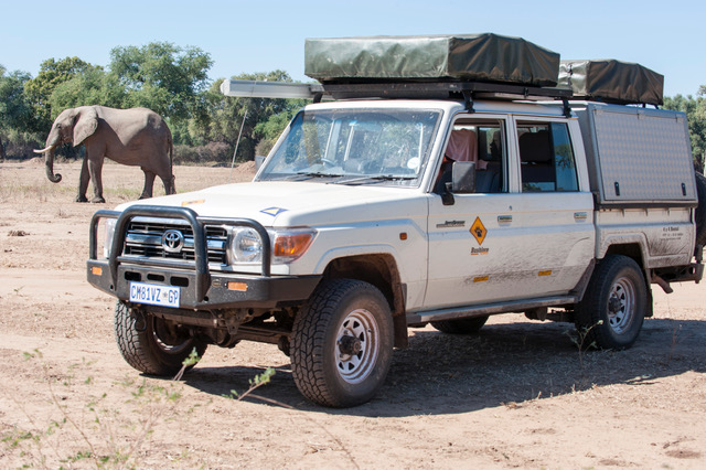 Need a larger vehicle then upgrade to a Landcruiser - Fully equipped camping 4x4 vehicle.