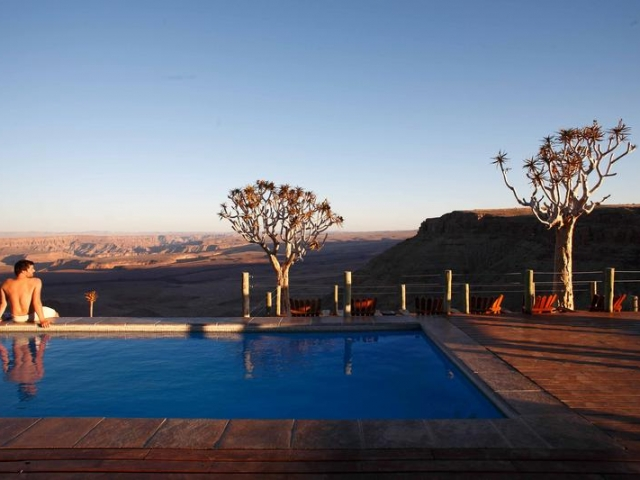 Cape to Windhoek - Fish River Lodge, Fish River Canyon (Upgrade), Pool
