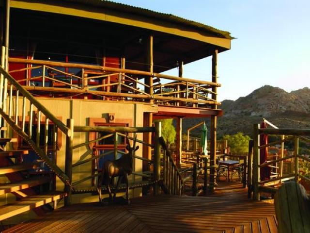 Cape to Windhoek - Desert Horse Inn, Aus (Standard), Main Lodge