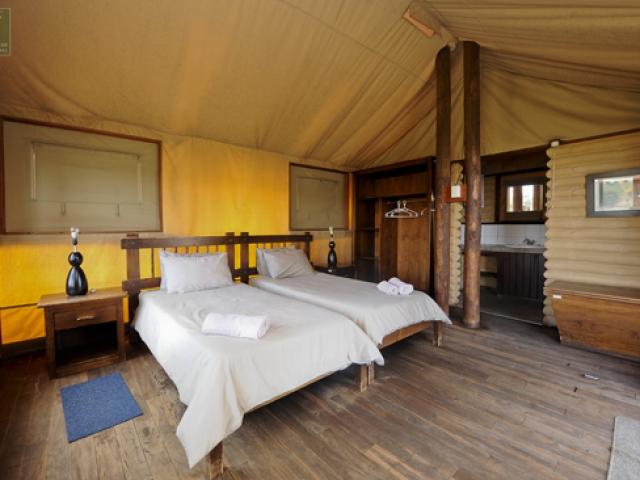 Cape to Windhoek - Kalahari Tented Camp, Kgalagadi (Standard), Self-Catering Desert Tent