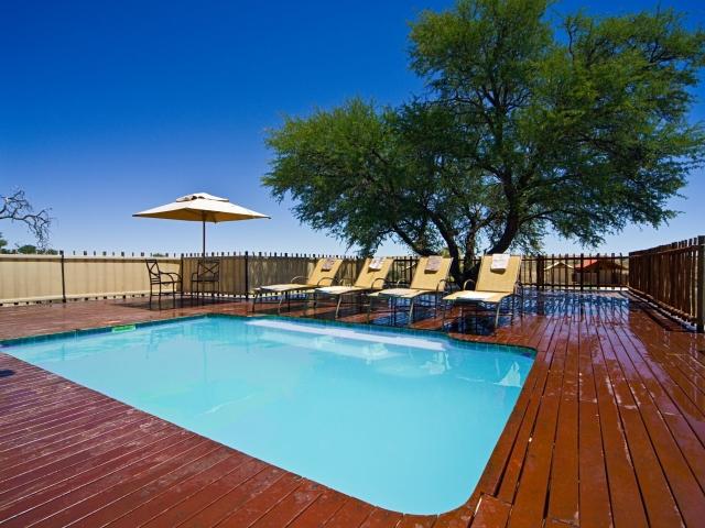 Cape to Windhoek - Kalahari Tented Camp, Kgalagadi (Standard), Pool Area