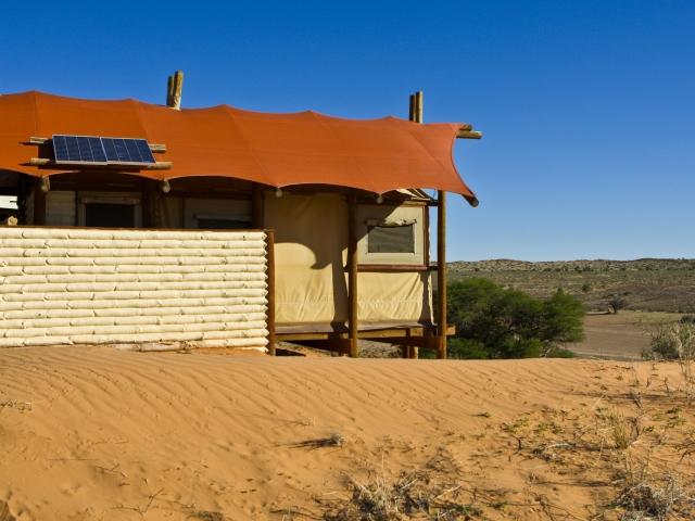 Cape to Windhoek - Kalahari Tented Camp, Kgalagadi (Standard), River Bed Views