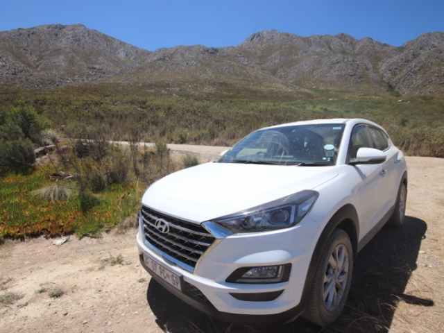 The Swartberg Pass on the Garden Route - traversable with an SUV.