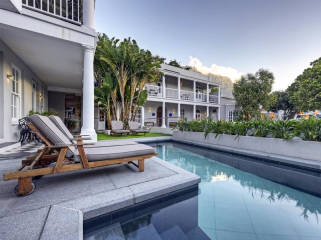 Cape to Windhoek - Three Boutique Hotel (Upgrade), Pool with Table Mountain views