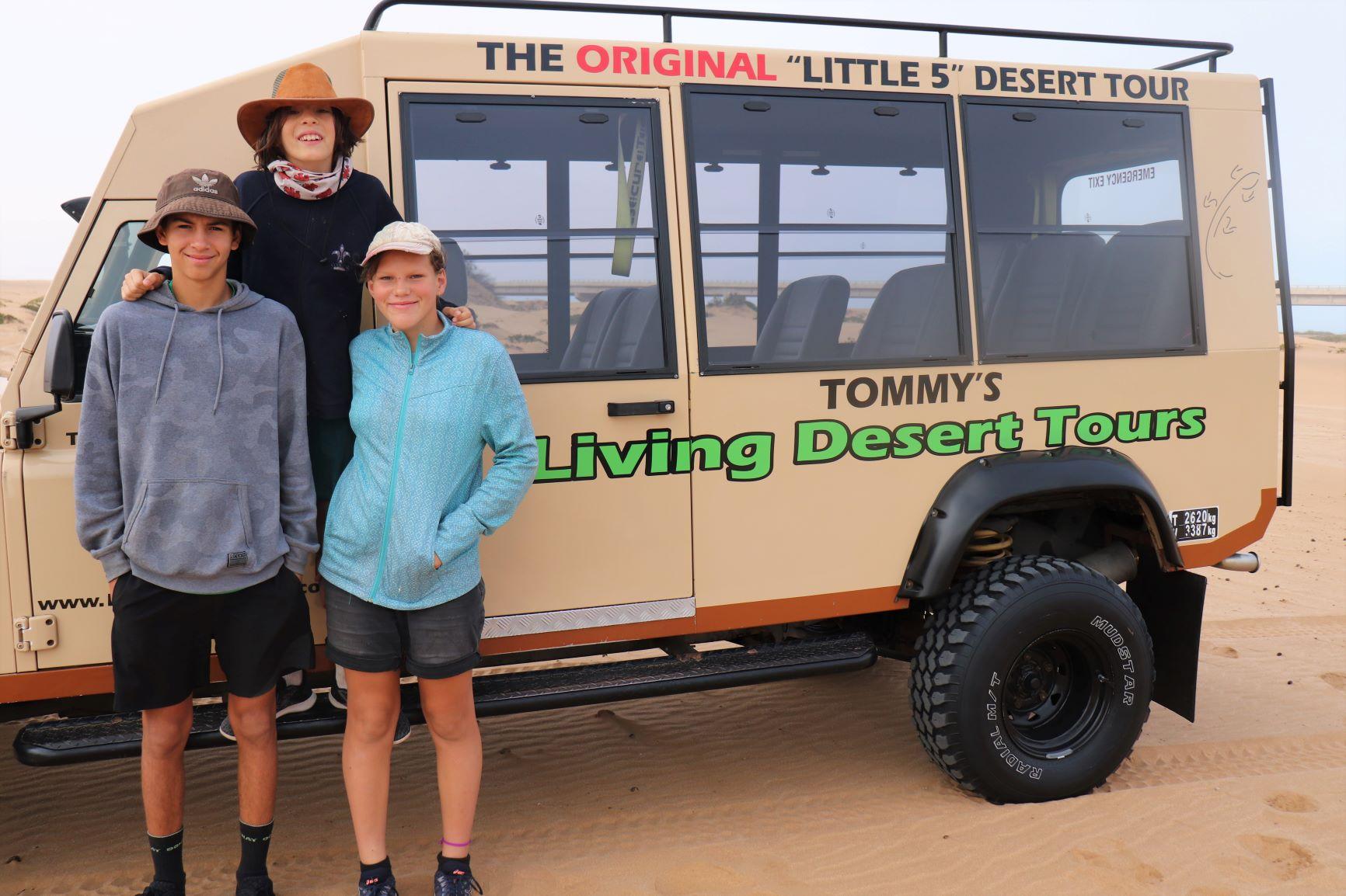 Desert tour, Namibia Family holiday