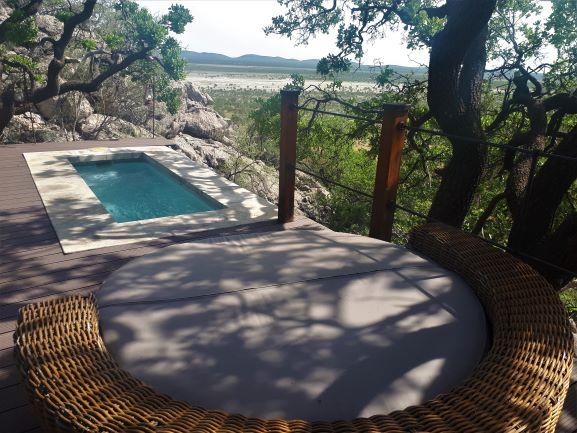 Dolomite Camp Plunge Pool, Etosha, Namibia