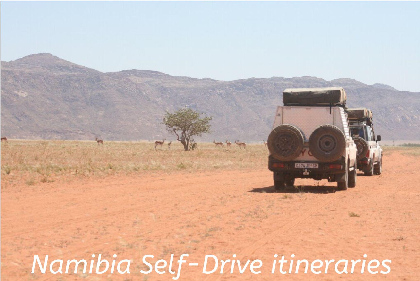 Namibia self-drive itineraries