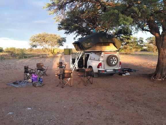 Rooiputs Campsite, Botswana