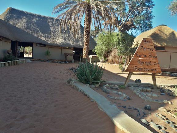 Sossusvlei Campsite, Namibia