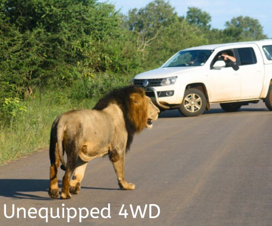 Unequipped 4WD self drive