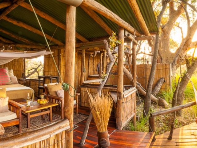 Delta Camp, Okavango Delta Family Tour, comfortable chalets