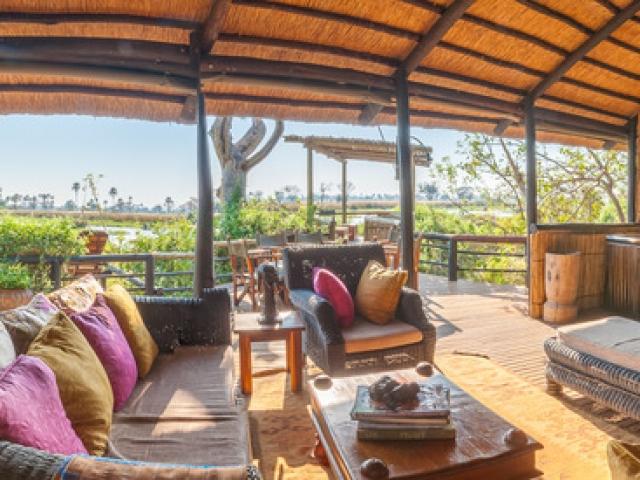 Delta Camp, Okavango Delta Family Tour, lounge