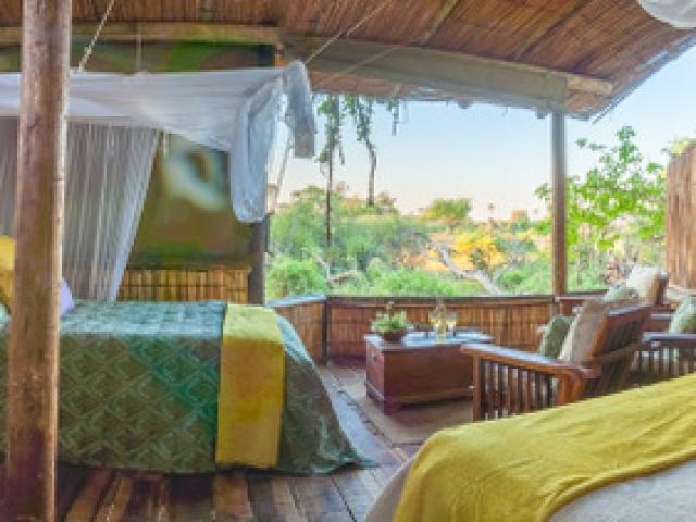 Delta Camp, Okavango Delta Family Tour, Family Chalet