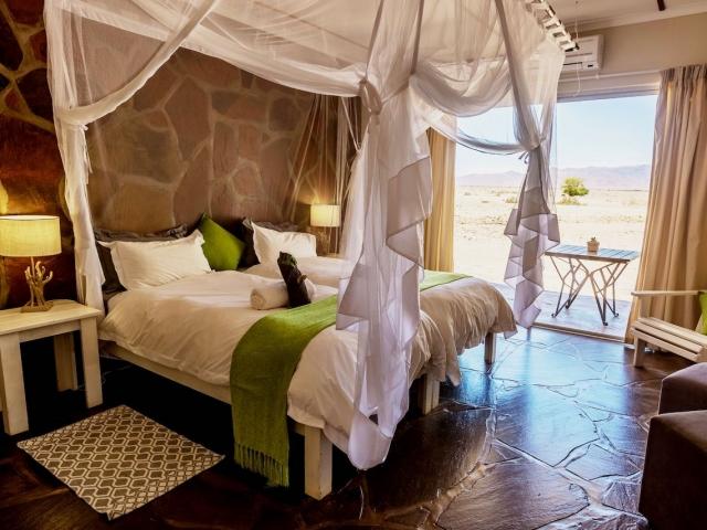 Namibia Family Holiday, Elegant Desert Lodge, Sossusvlei, chalet