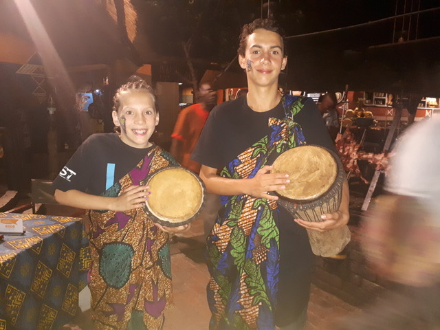 Boma Dinner and Drum show - great for the family