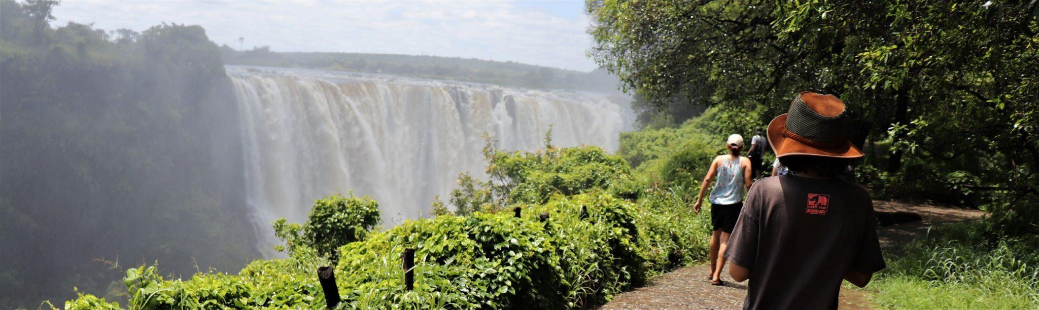 The magnificent Victoria Falls!