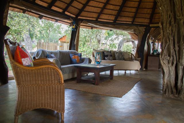 Africa on Foot Camp, Main Lodge, Central Kruger
