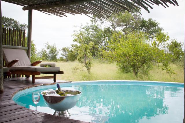 Africa on Foot Camp, Pool, Central Kruger