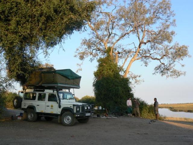 Ihaha Campsite, Chobe National Park, river view