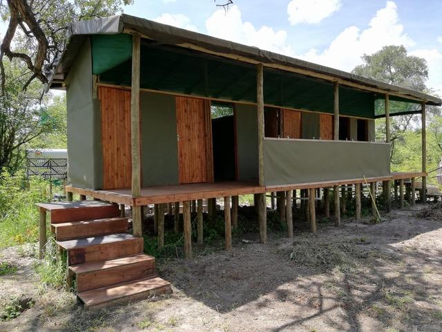 Mbudi Campsite, Khwai Community Trust, Ablution Block