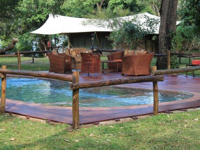 Mvuu Lodge, Lower Zambezi, Pool