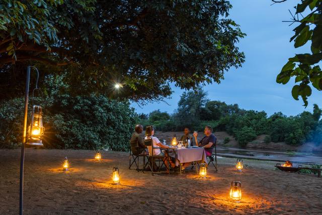 Pafuri Walking Trails Camp, Luvuvhu River Dining, Northern Kruger