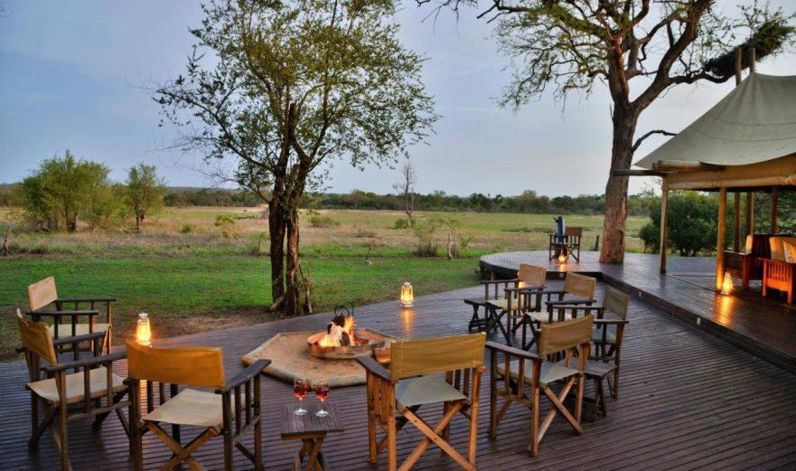 Rhino Post Plains Camp, Main Lodge, Southern Kruger