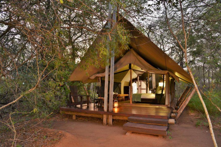 Rhino Post Plains Camp, Safari Tent, Southern Kruger