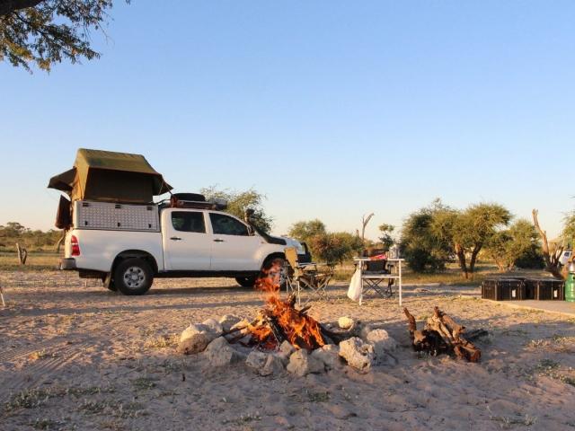 Savuti Campsite, Chobe National Park